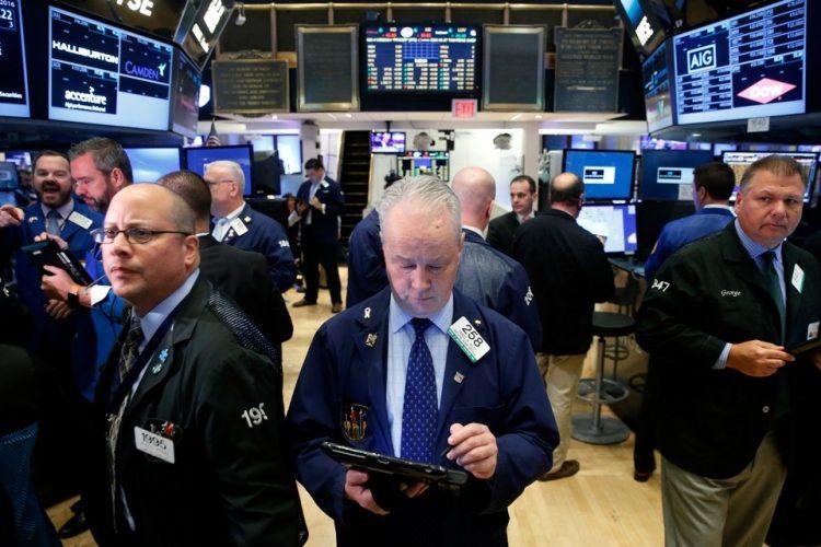 Wall Street. | Brendan McDermid, Reuters.