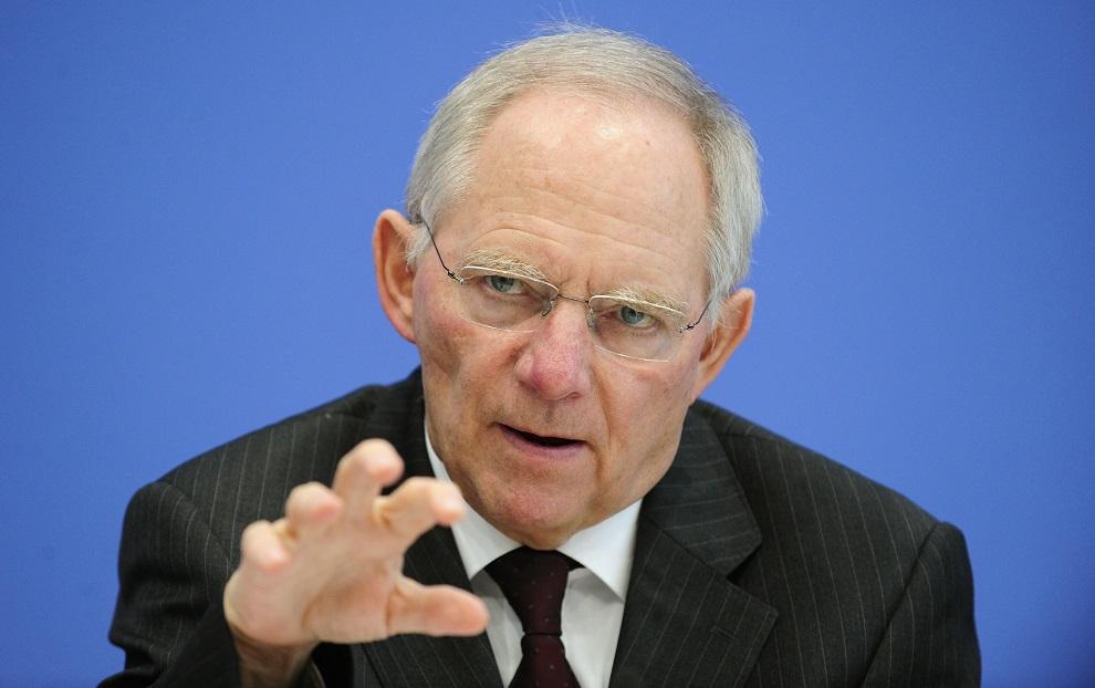 Wolfgang Schäuble, ministro de Finanzas de Alemania./Fuente externa