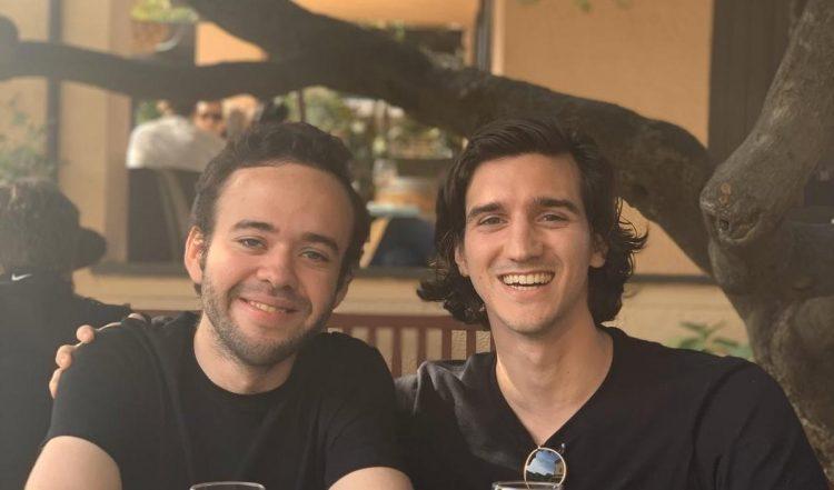 Xavier Pladevall y Eduardo Portet, creadores de la aplicación Index.