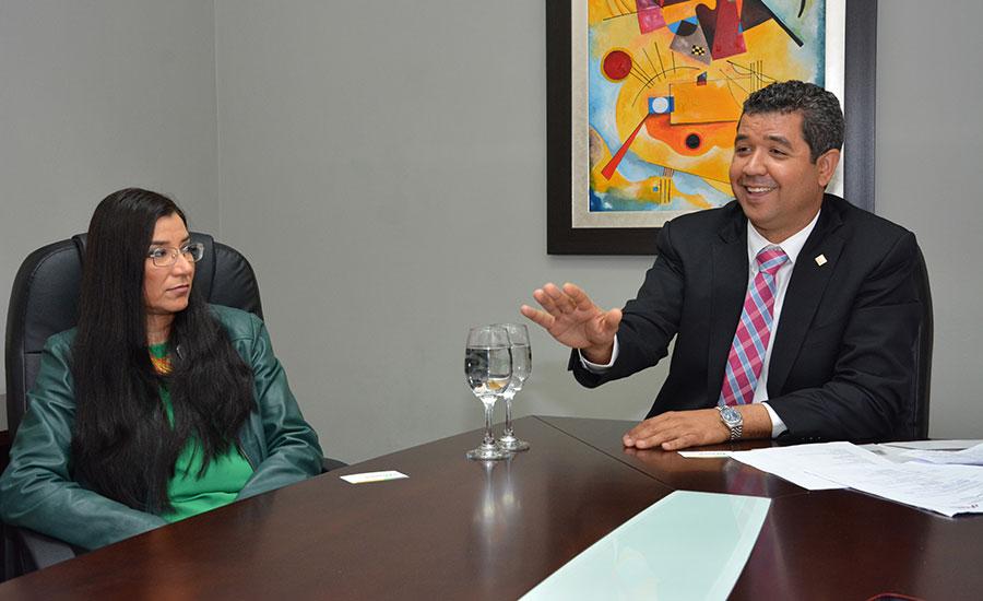 Irene Campos Gómez y Héctor Bretón./Gabriel Alcántara