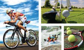 Ciclismo, deportes acuáticos, tenis y golf son los deportes que más ofertan las cadenas hoteleras.