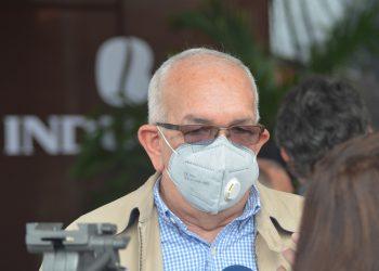 El administrador del Banco Agrícola (Bagrícola), Fernando Durán.