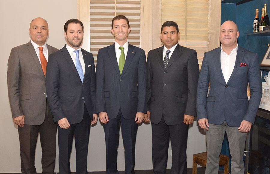 Jairon Severino, Yan Piero Núñez-Del Risco, Santiago Sicard, Esteban Delgado y René del Risco. | Lésther Álvarez