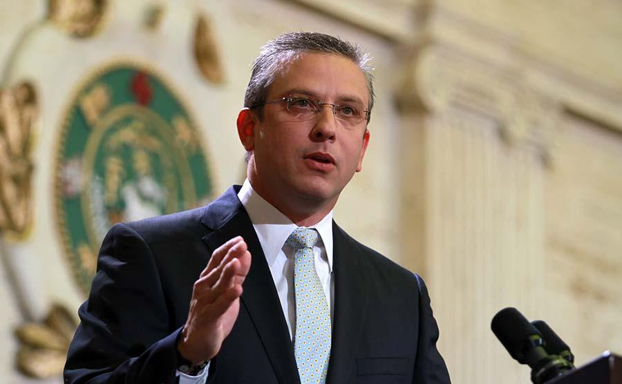 Alejandro García Padilla, gobernador de Puerto Rico. | Fuente externa