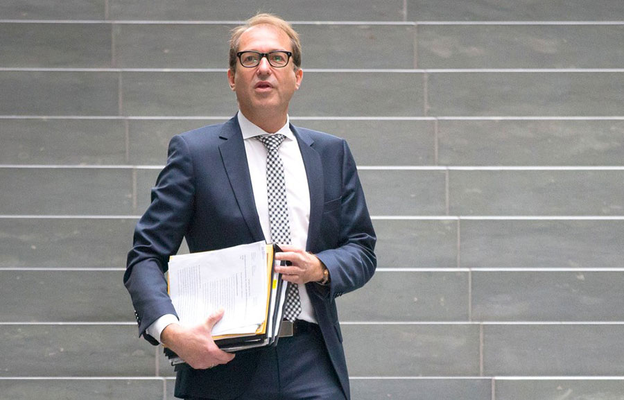 Alexander Dobrindt, ministro de Transporte de Alemania.