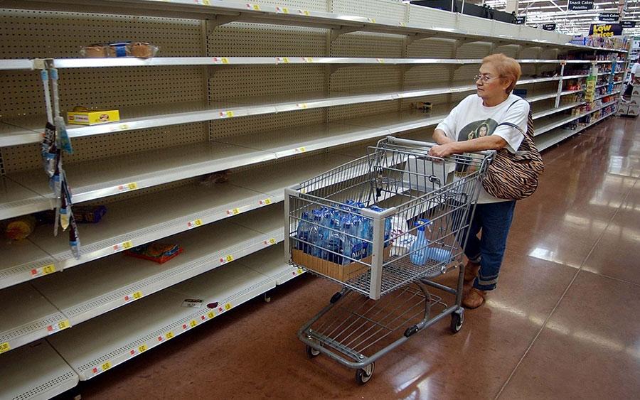 Venezuela está sumida en una crisis de suministro de alimentos.