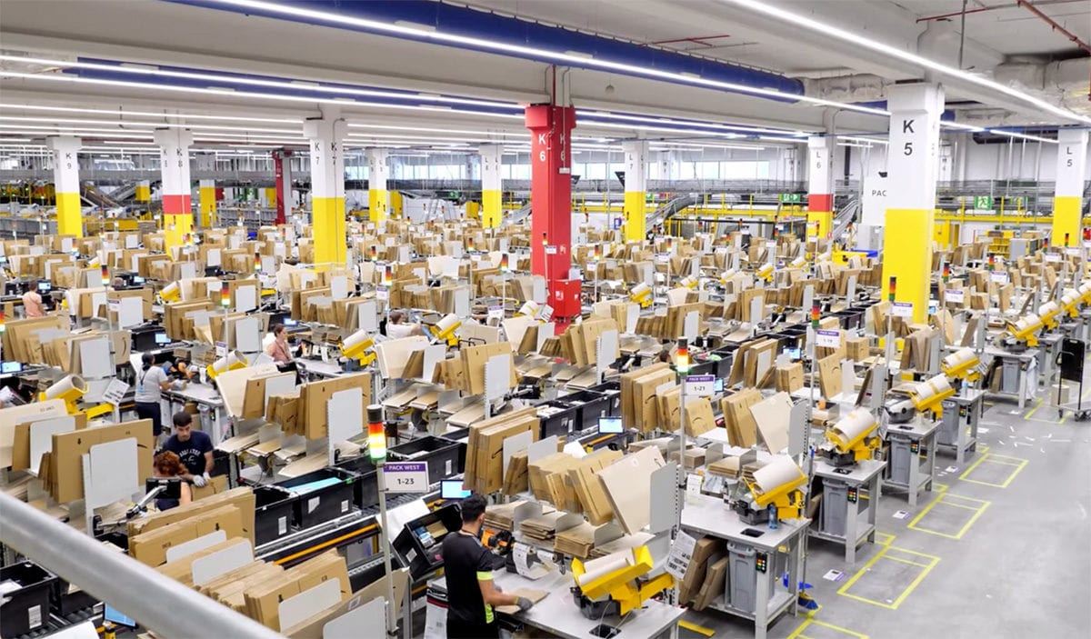 amazon centro distribucion