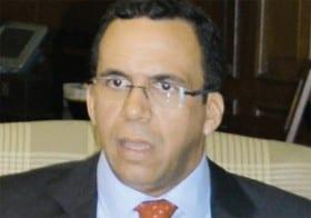 Andrés Navarro, ministro de Relaciones Exteriores.