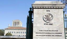 La Organización Mundial del Comercio (OMC) cuenta con 161 miembros. Su fundación fue en 1995, surgida del GATT.   Fuente externa