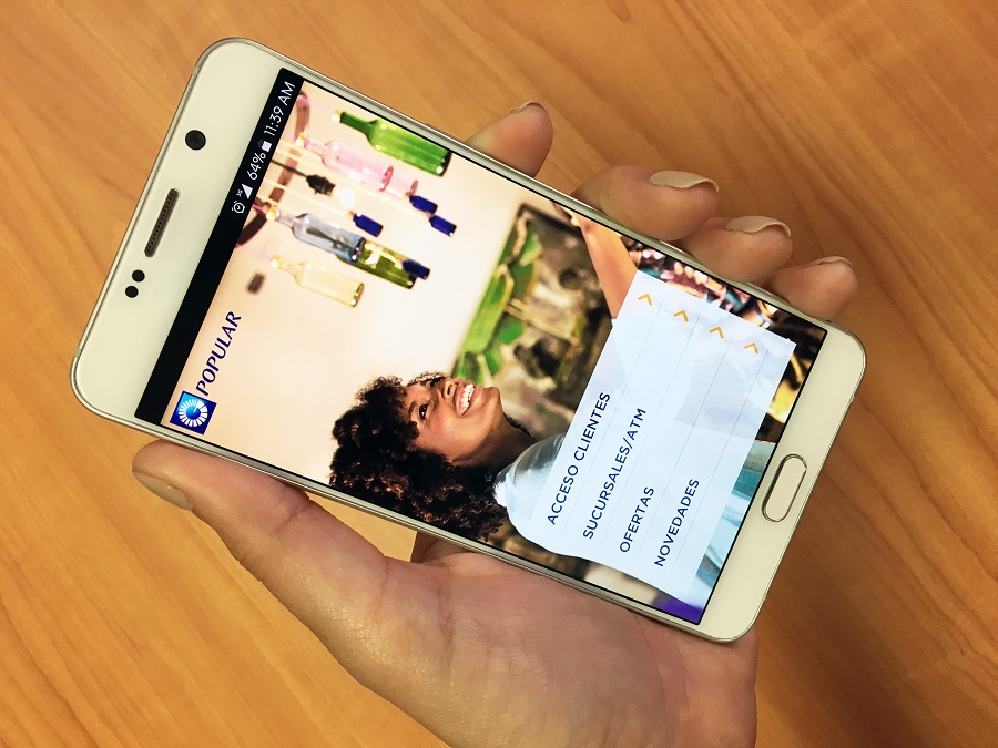La nueva App Popular ofrece una mejor vía de acceso para los clientes del Banco Popular.
