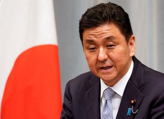 El ministro de Defensa nipón, Nobuo Kishi. | Franck Robichon, EFE.
