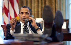 Barack Obama, presidente de Estados Unidos de América.