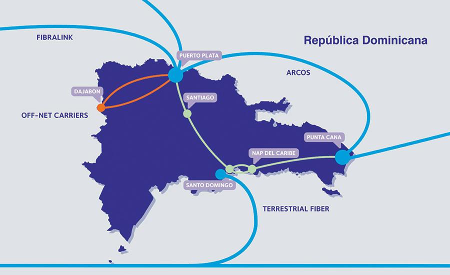 Resultado de imagen para cable submarino hacia RD y otros países del Caribe