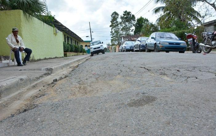 calles mal estado san antonio de guerra