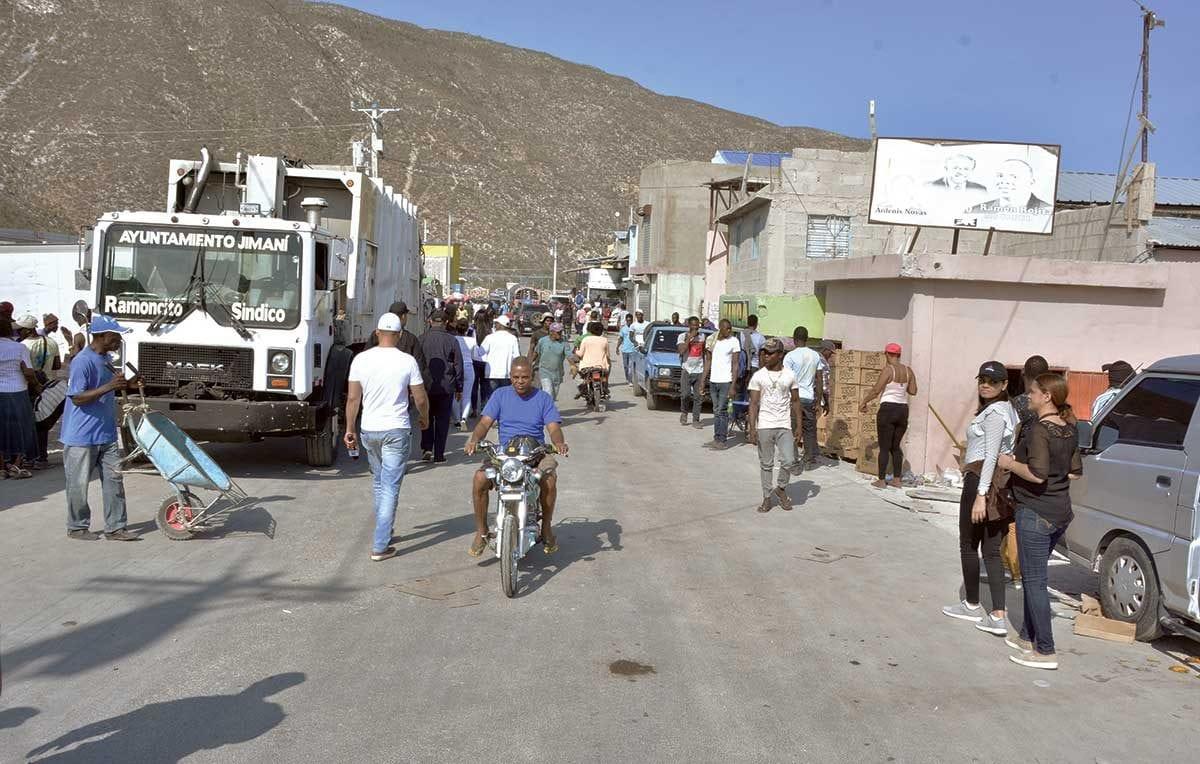 carretera internacional frontera haiti