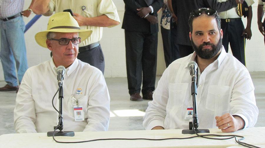 Los empresarios Juan Bautista Vicini (der.) y Fernando Capellán. | elDinero