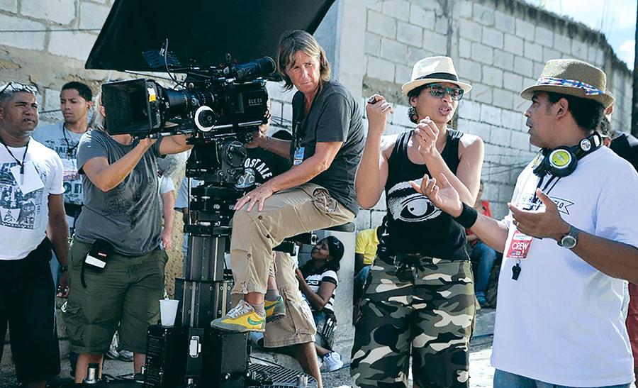 La mayor parte del gasto de una película se realiza en el rodaje.