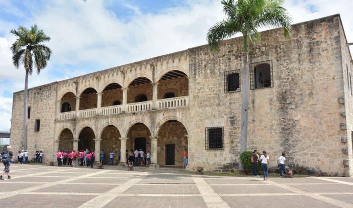 ciudad colonial alcazar de colon