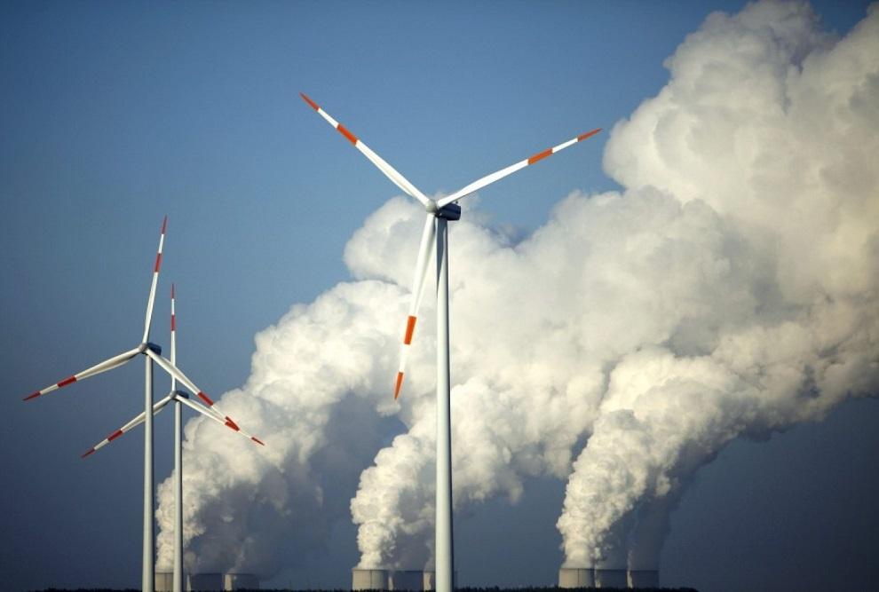 co2 wind coal