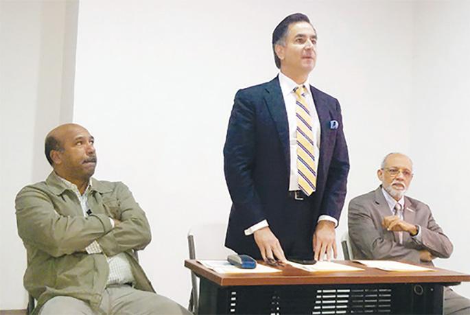 Onofre Rojas, Carlos José Martí y Pedro Justo Castellanos.