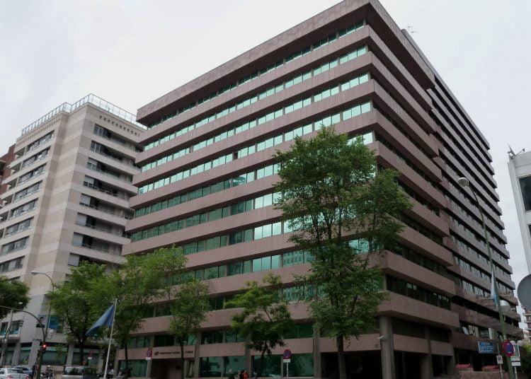Sede central de la Organización Mundial del Turismo (OMT).