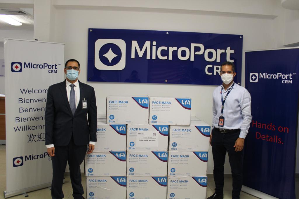coronavirus microport