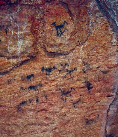 cuevas petroglifos pictografias