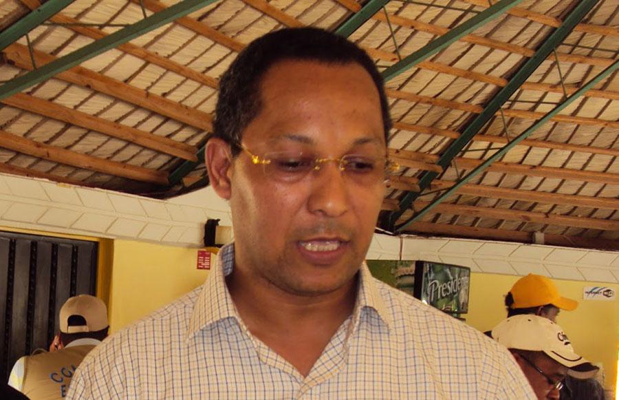 Dionis Sánchez, senador de la provincia Pedernales.   Fuente externa