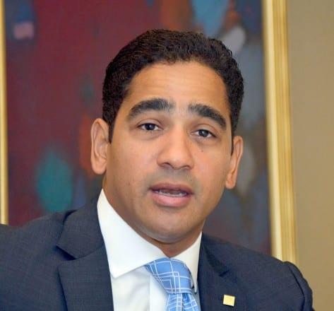Edward Baldera, vicepresidente del Área de Inversión del Banco Popular.