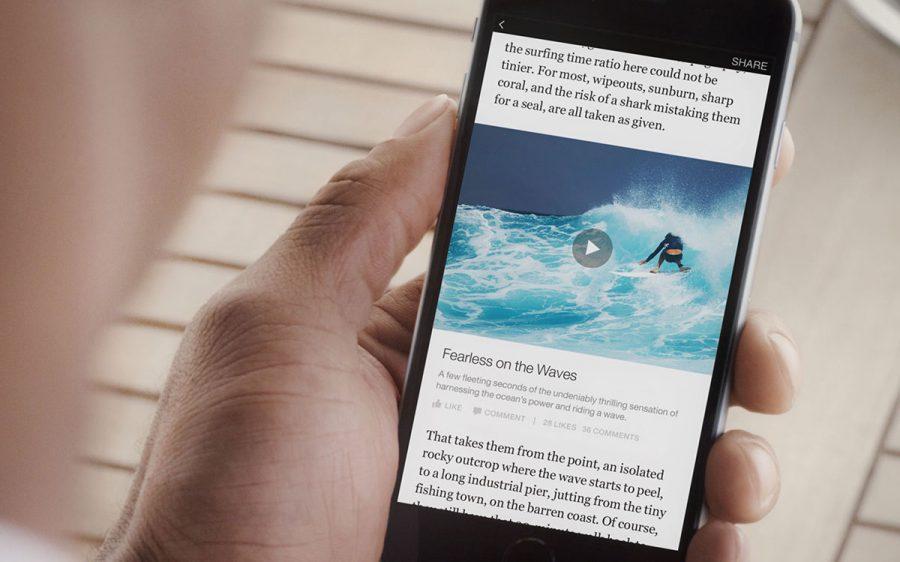 facebook consumo de video