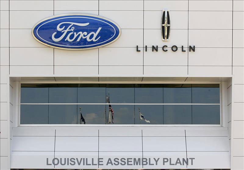 Fachada de la planta de Ford en Louisville. | Fuente externa.