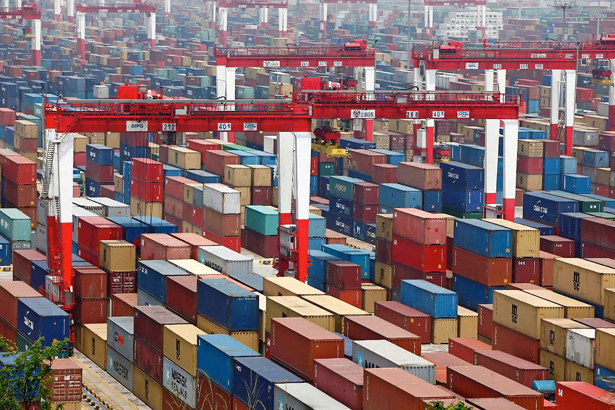guerra comercial contenedores en china