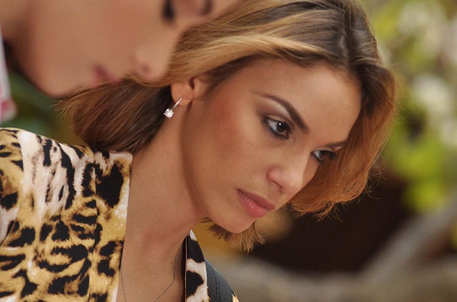 Hony Estrella, actriz de teatro y de cine, en una escena de la película Morir Soñando.