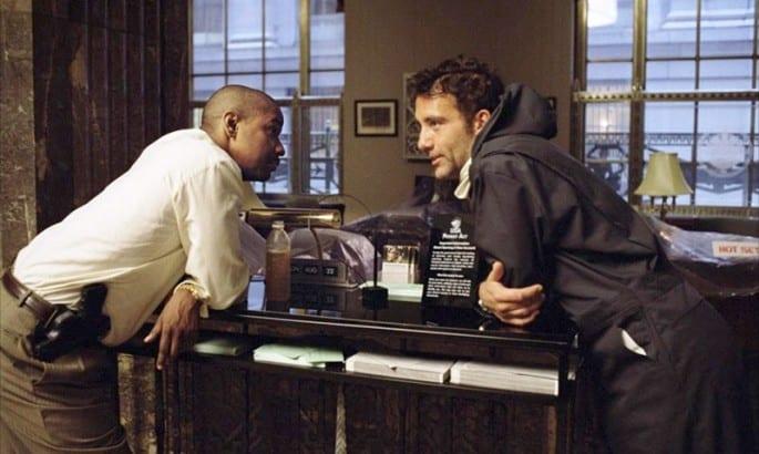 Denzel Washington y Clive Owen en una escena de Plan perfecto.