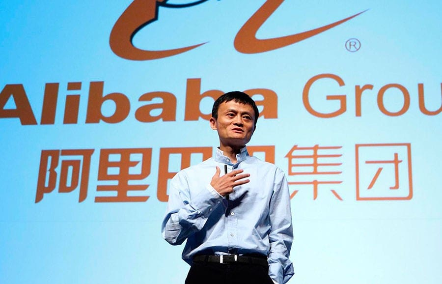 Jack Ma, presidente ejecutivo de Alibaba Group.