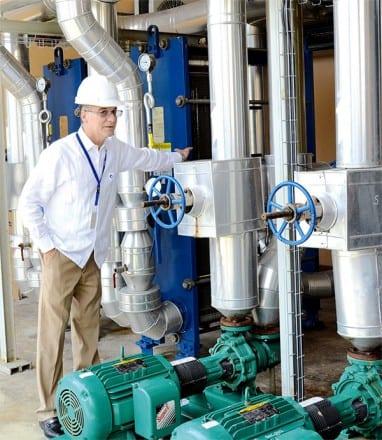 Jesús Bolinaga destacó la última tecnología que utiliza CEPM.