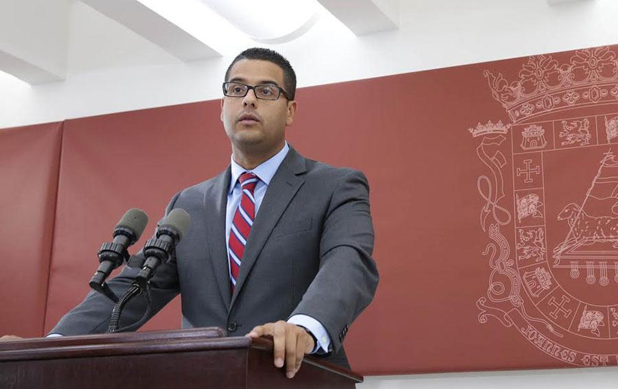 Jesús Manuel Ortiz, secretario de Asuntos Públicos de Puerto Rico.