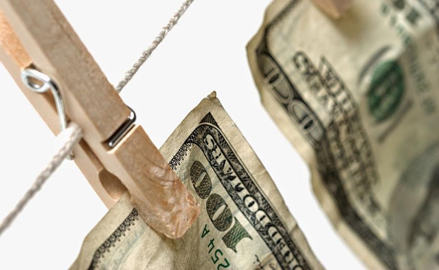 El dinero proveniente del narcotráfico es de los más usados para el lavado de activos, pero esa actividad no es exclusiva del mundo de las drogas.