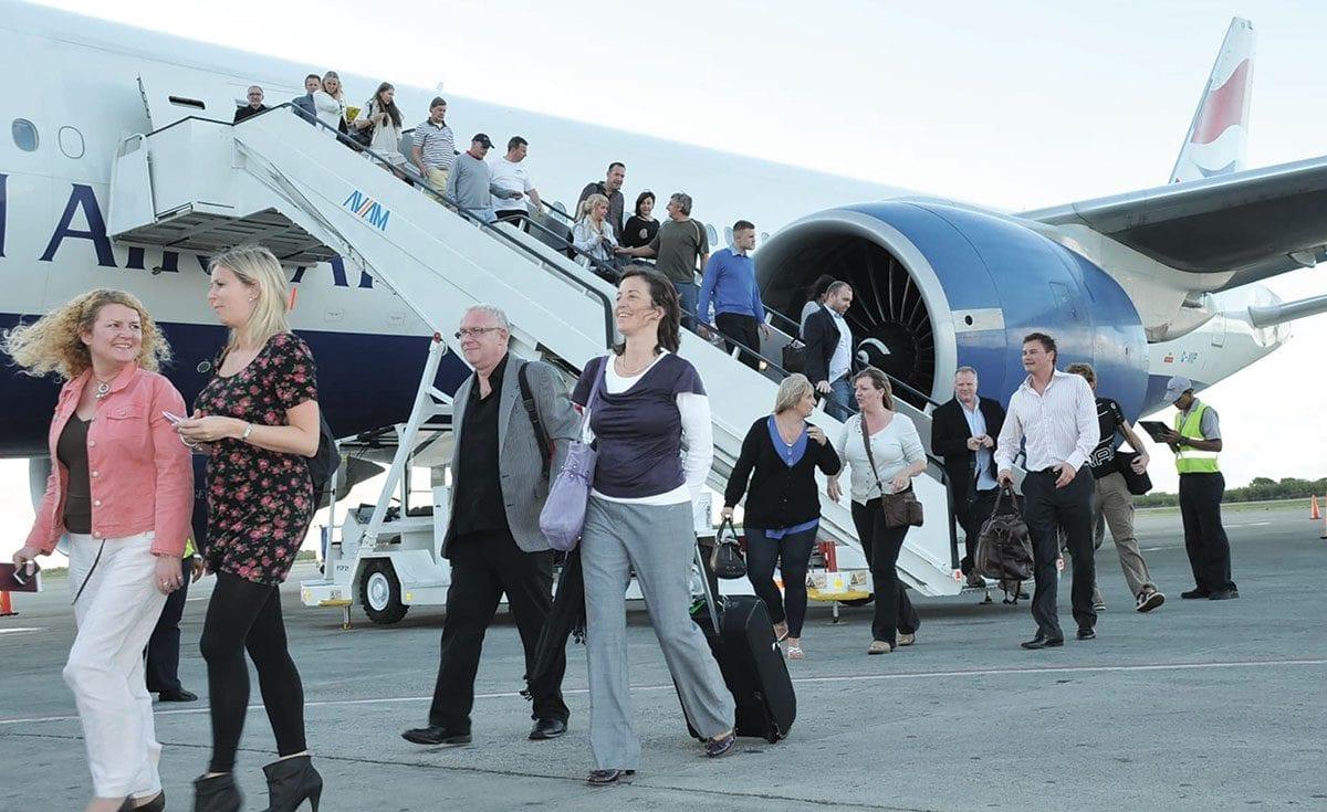 llegada de turistas estados unidos