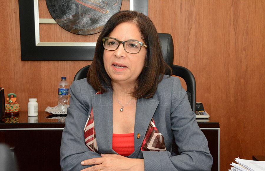Maira Mercedes Jiménez, directora de Banca Solidaria. | Gabriel Alcántara