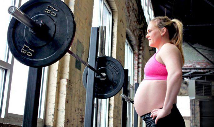 maternidad embarazo entrenamiento gym