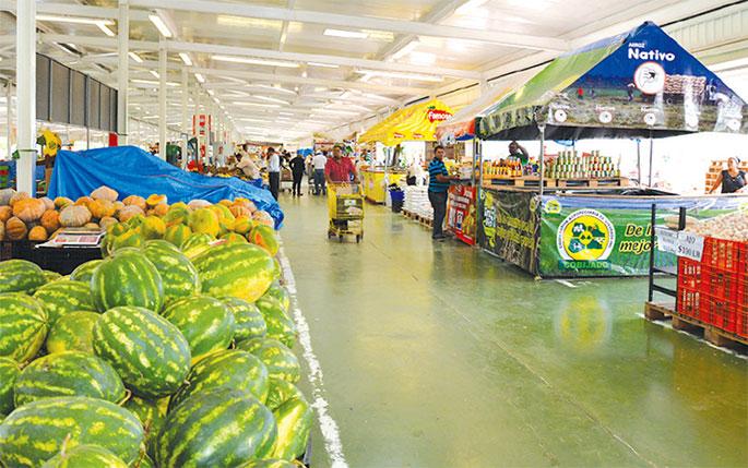 El Mercadom ocupa un espacio de 1.2 millones de metros cuadrados.