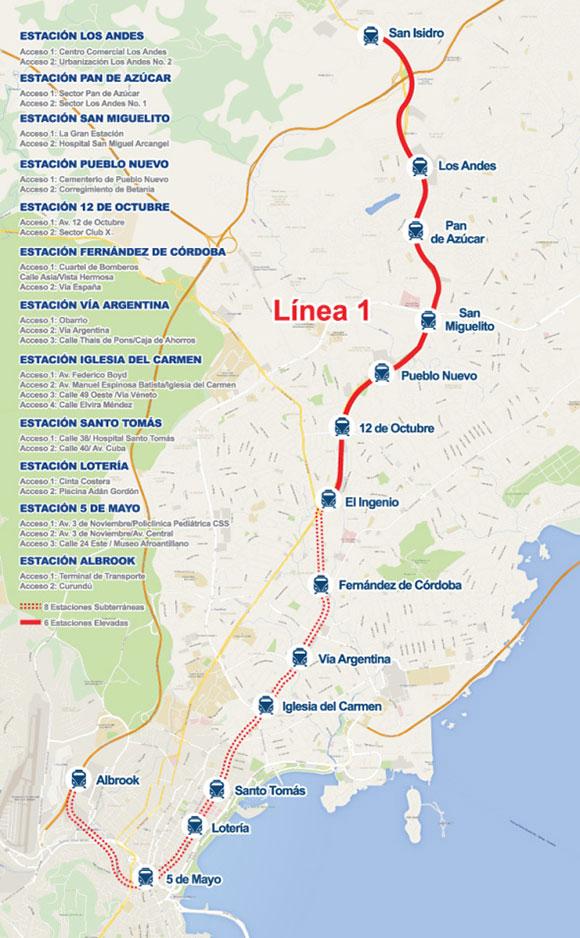 metro de panama linea 1