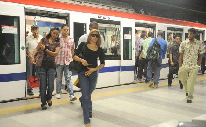 metro de santo domingo pasajeros