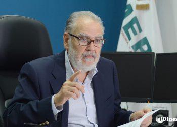 Miguel Ceara Hatton, ministro de Economía, Planificación y Desarrollo. | Lésther Álvarez