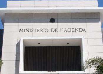 Fachada del Ministerio de Hacienda.