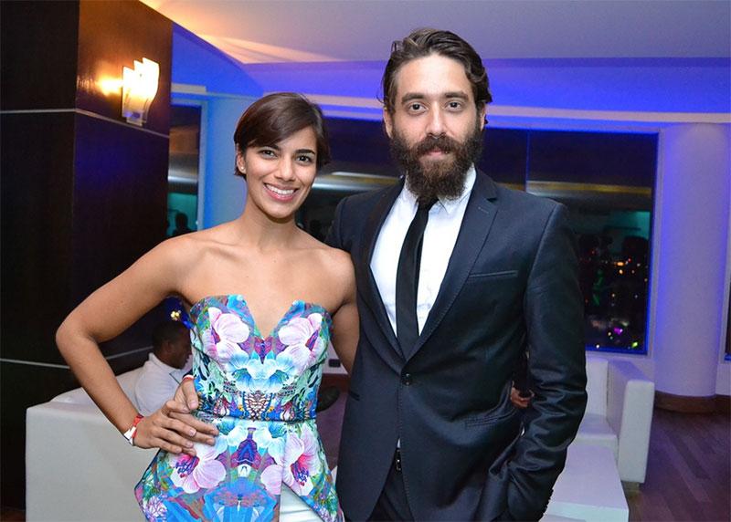 Nashla Bogaert y David Maler, creadores de Cacique Films.