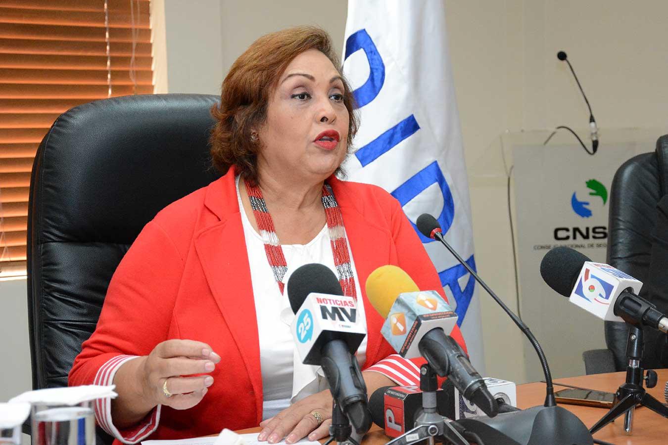 Nélsida Marmolejos, directora de la DIDA| Gabriel Alcántara