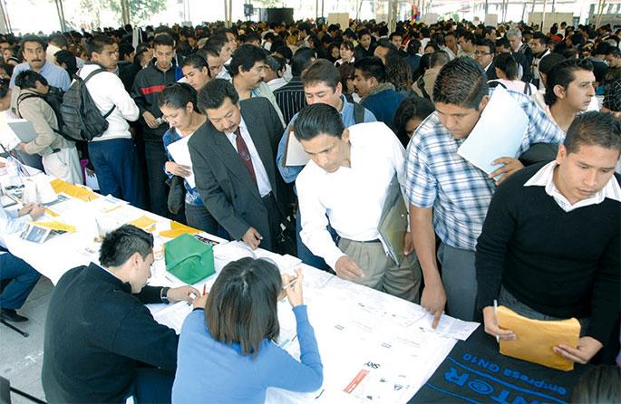 La oferta de empleo es uno de los más importantes indicadores de la mejoría de la economía.