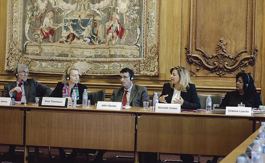 """Michelle Cohen participó en la conferencia """"Contribución de la Competencia Económica en el Desarrollo de las Naciones"""" de la OCDE."""